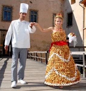 Vestido de novia para comérselo