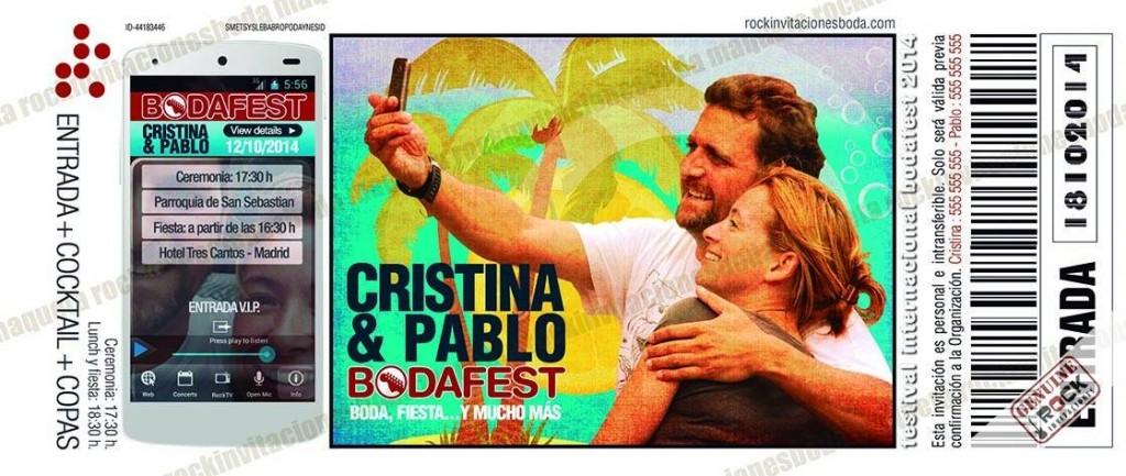 Pablo Y Noemý también encontraron el amor en un festival.
