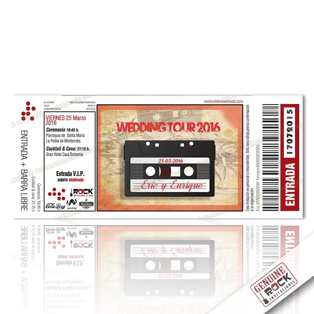 invitaciones-boda-indie-rock-casette-vintage