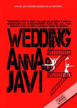 Invitaciones de boda tipo Cine